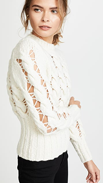 Philosophy di Lorenzo Serafini Open Knit Sweater