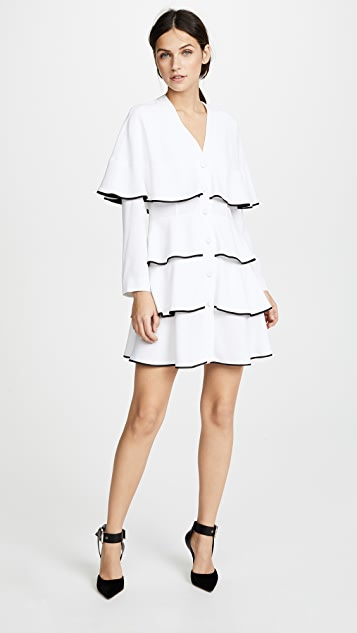 Philosophy di Lorenzo Serafini Ruffle Mini Dress