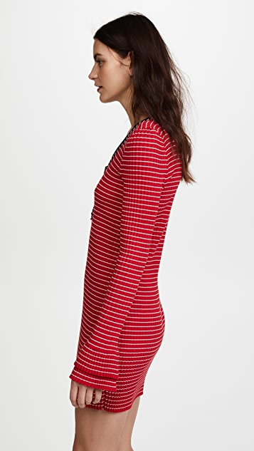 Philosophy di Lorenzo Serafini Henley Dress
