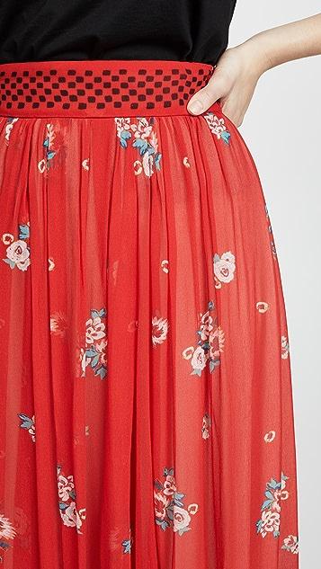 Philosophy di Lorenzo Serafini Layered Skirt