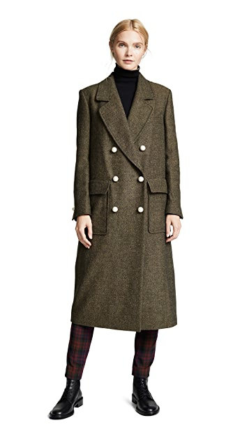 Philosophy di Lorenzo Serafini Double Breasted Trench