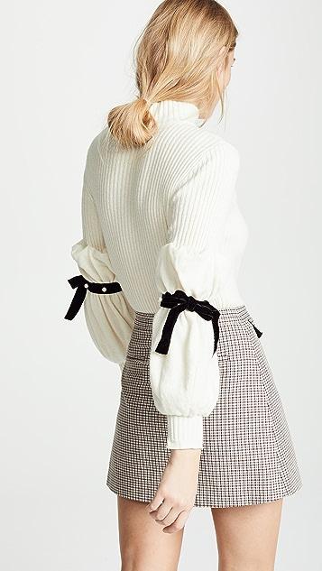 Philosophy di Lorenzo Serafini Tie Sleeve Pullover