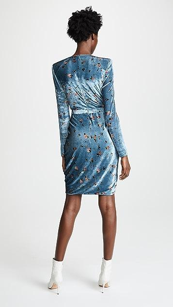 Philosophy di Lorenzo Serafini Drape Front Mini Floral Dress