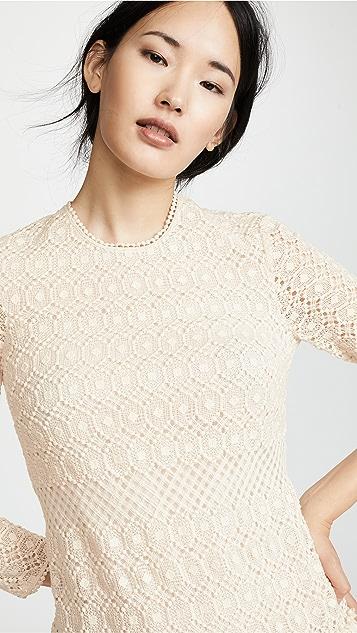 Philosophy di Lorenzo Serafini Crochet Mini Dress