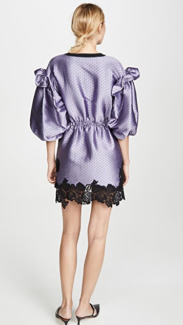 Philosophy di Lorenzo Serafini Puff Sleeve Mini Dress