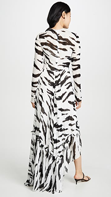 Philosophy di Lorenzo Serafini Вечернее платье Zebra