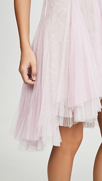 Philosophy di Lorenzo Serafini Sheer Mini Dress
