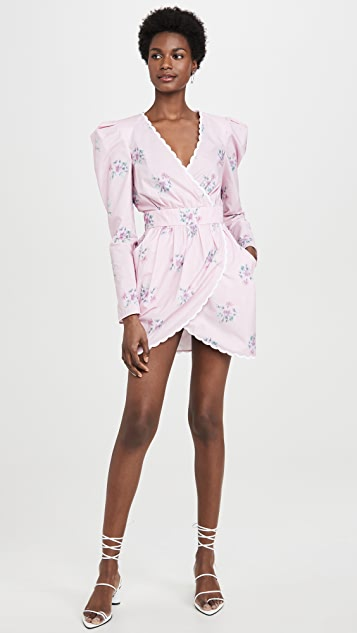 Philosophy di Lorenzo Serafini V Neck Long Sleeve Mini Dress