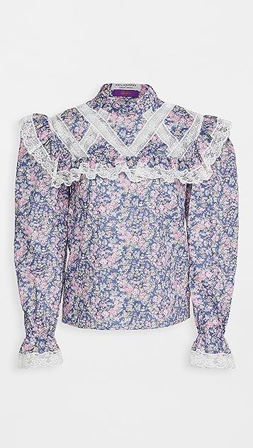 Philosophy di Lorenzo Serafini 花卉印花女式衬衫