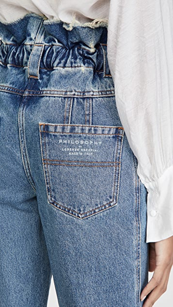 Philosophy di Lorenzo Serafini Ankle Length Jeans