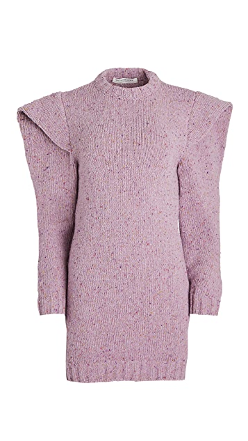 Philosophy di Lorenzo Serafini Shoulder Detail Sweater Dress