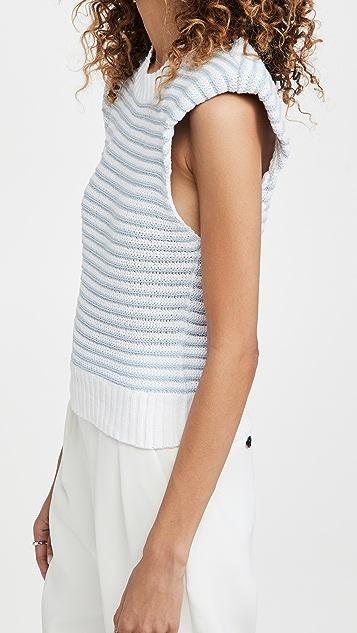 Philosophy di Lorenzo Serafini Striped Knit Top