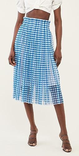 Philosophy di Lorenzo Serafini - Printed Tulle Midi Skirt