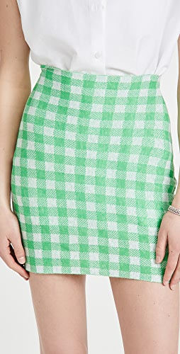 Philosophy di Lorenzo Serafini - Linen Cotton Blend Miniskirt