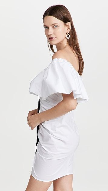 Philosophy di Lorenzo Serafini Poplin Button Front Mini Dress