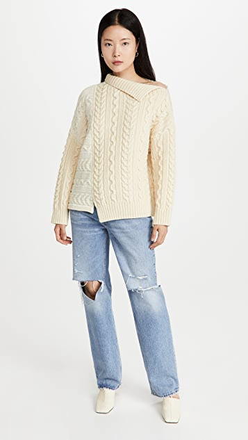 Philosophy di Lorenzo Serafini Pure British Wool Bicolor Knit
