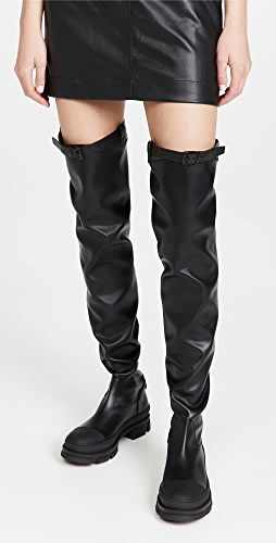 Philosophy di Lorenzo Serafini - Over-the-Knee Boots with Buckle