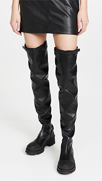 Philosophy di Lorenzo Serafini Over-the-Knee Boots with Buckle