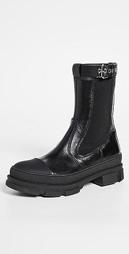 Philosophy di Lorenzo Serafini - Rubber Sole Boots with Buckle