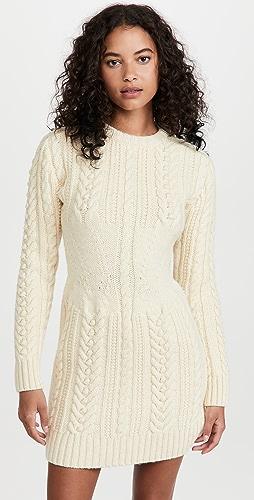 Philosophy di Lorenzo Serafini - Virgin Wool Sweater Dress