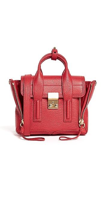 3.1 Phillip Lim Pashli Mini Satchel - Red