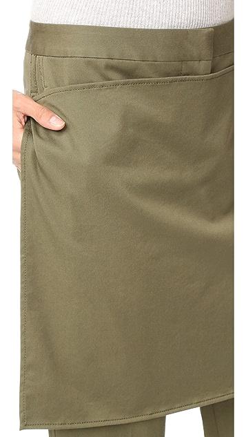 3.1 Phillip Lim Abbreviated Apron Pants
