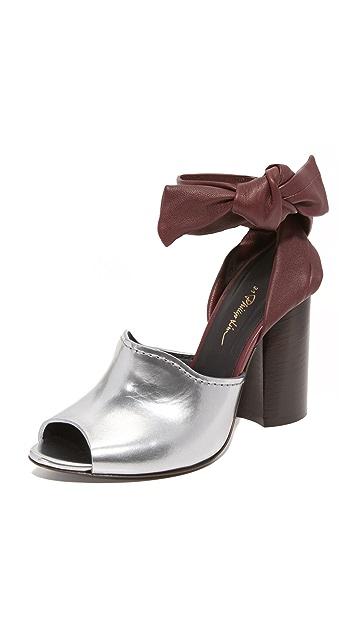 3.1 Phillip Lim Kyoto Ankle Bow Sandals