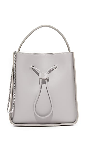 3.1 Phillip Lim Soleil Small Bucket Bag - Cement