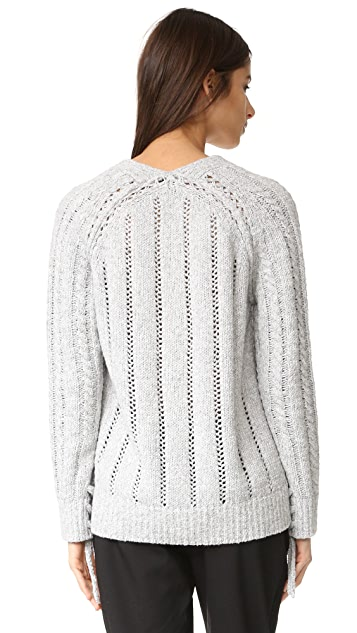 3.1 Phillip Lim Pointelle Cardigan