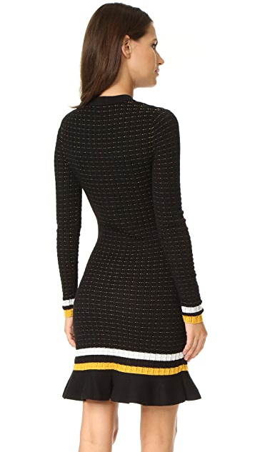 3.1 Phillip Lim Smocked Drop Waist Dress