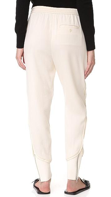3.1 Phillip Lim Jogger Pants with Ribbing