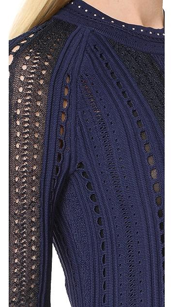 3.1 Phillip Lim Pointelle Lace Dress