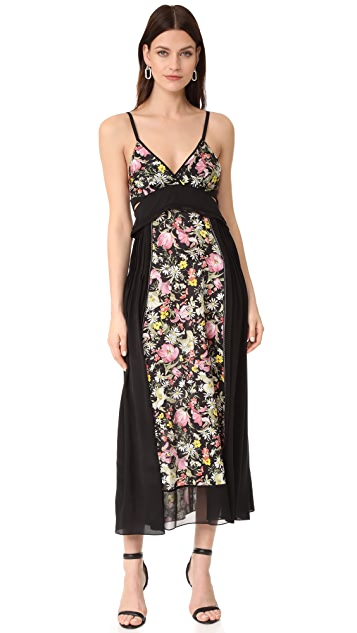 3.1 Phillip Lim Meadow Flower Dress with Bra Detail