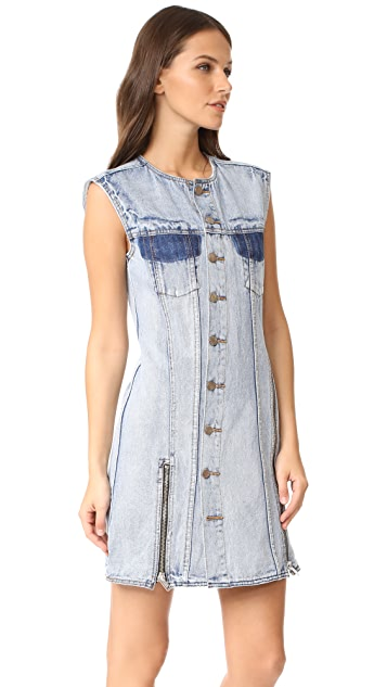 3.1 Phillip Lim Asymmetrical Denim Dress