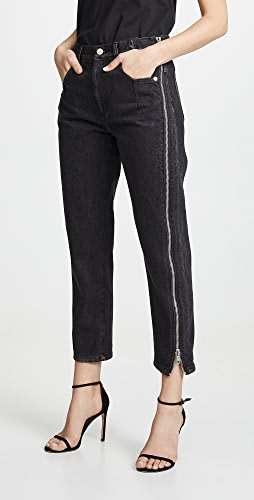 3.1 Phillip Lim - Straight Jeans with Zipper