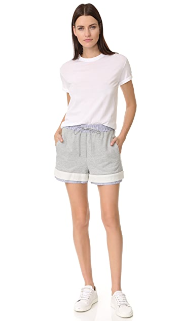 3.1 Phillip Lim French Terry Shorts
