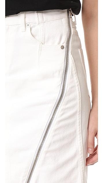 3.1 Phillip Lim Zipper Skirt