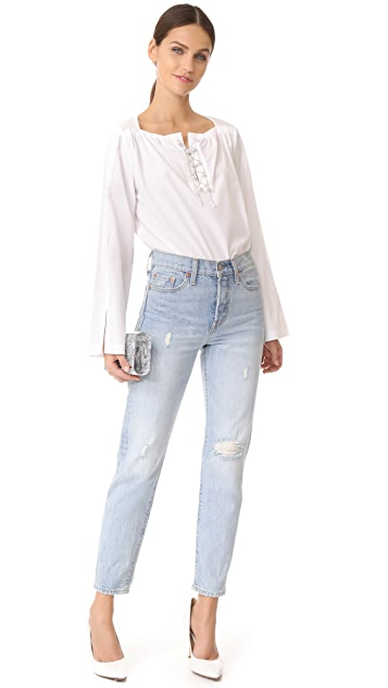 3.1 Phillip Lim Top with Lacing