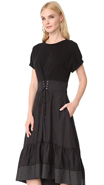 3.1 Phillip Lim Dress with Corset Waist