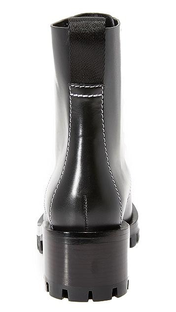 3.1 Phillip Lim Hayett Lug Sole Pearl Boots