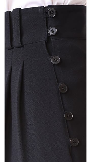 3.1 Phillip Lim Tailored Pants with Side Buttons