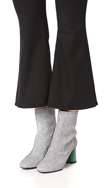 3.1 Phillip Lim Drum Contrast Heel Booties