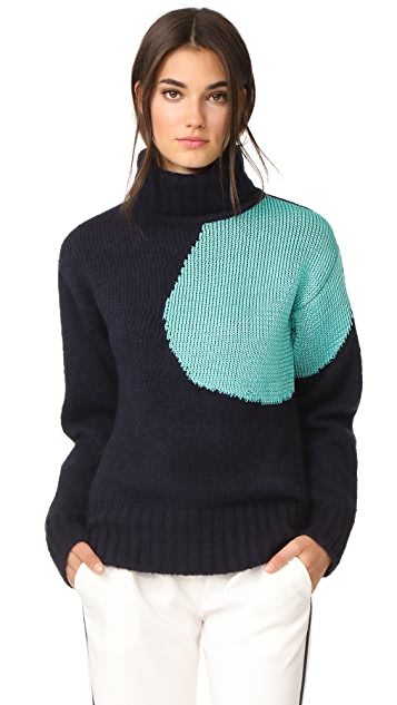 3.1 Phillip Lim Alpaca Sphere Turtleneck