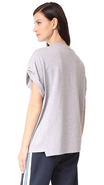 3.1 Phillip Lim Pierced Sleeve Top