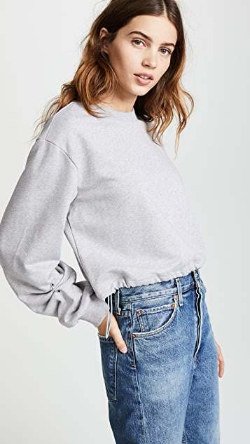 ... 3.1 Phillip Lim Long Sleeve Pullover with Pierced Sleeve ...
