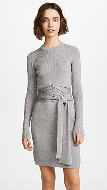 3.1 Phillip Lim Rib Wrapped Waist Dress