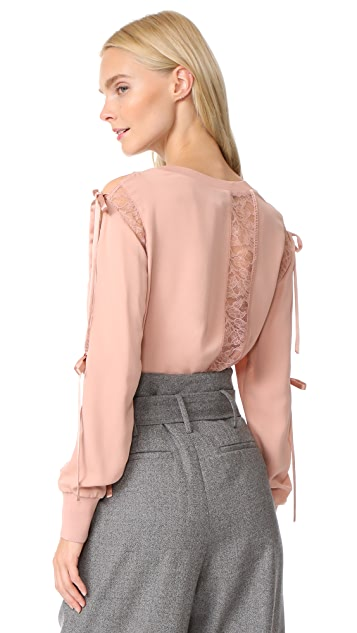 3.1 Phillip Lim Lace Blouse