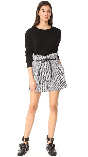 3.1 Phillip Lim Origami Shorts