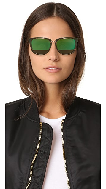 3.1 Phillip Lim Mirrored Sunglasses