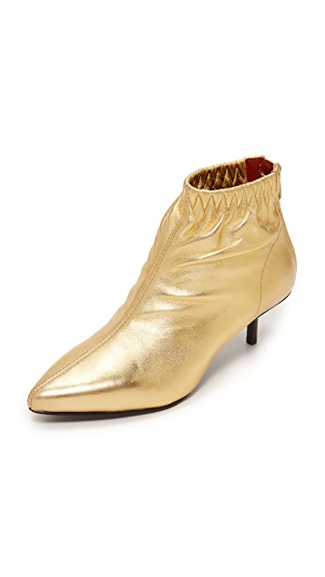 3.1 Phillip Lim Blitz Kitten Heel Booties